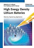 High Energy Density Lithium Batteries:…
