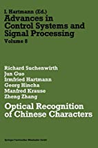 Optical recognition of Chinese characters by…