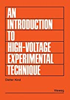 An introduction to high voltage experimental…