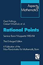 Rational Points: Seminar Bonn/Wuppertal…
