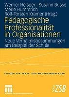 Pdagogische Professionalitt in…