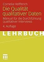 Die Qualität Qualitativer Daten: Manual…