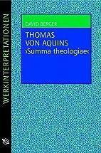 Thomas von Aquins Summa theologiae by…