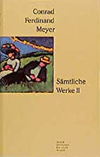 Sämtliche Werke, 2 Bde., Ln, Bd.2: Bd.…