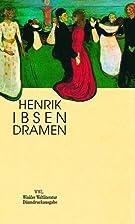 Dramen by Henrik Ibsen