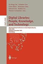 Digital Libraries: People, Knowledge, and…