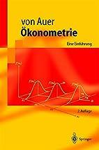 Ökonometrie by Ludwig von Auer