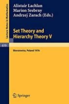 Set theory and hierarchy theory V :…