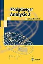 Analysis 2 (Springer-Lehrbuch) (German…