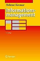 Informationsmanagement by Helmut Krcmar