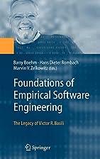 Foundations of Empirical Software…