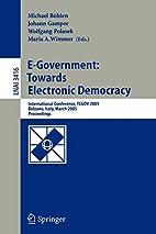 E-Government: Towards Electronic Democracy:…