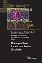 New Algorithms for Macromolecular Simulation…
