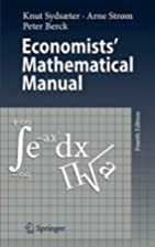 Economists' Mathematical Manual by Knut…