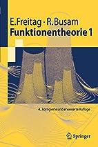 Funktionentheorie 1 (Springer-Lehrbuch)…