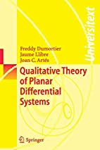 Qualitative Theory of Planar Differential…