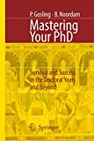 Patricia Gosling: Mastering Your PhD: Survival and Success in the Doctoral Years and Beyond