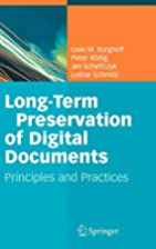 Long-Term Preservation of Digital Documents:…