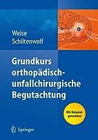 Grundkurs orthopädisch-unfallchirurgische…
