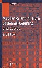 Mechanics and Analysis of Beams, Columns and…