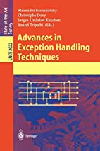 Advances in Exception Handling Techniques by…