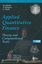 Applied Quantitative Finance by Wolfgang…