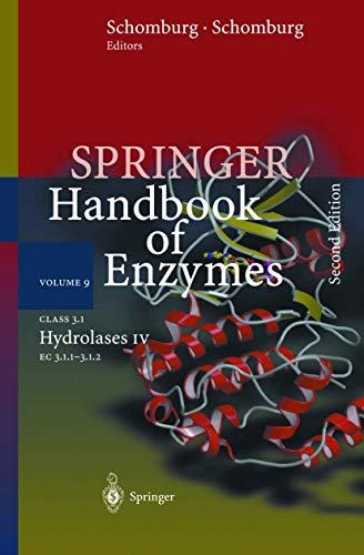 class-31-hydrolases-iv-ec-311-312-springer-handbook-of-enzymes-vol-9