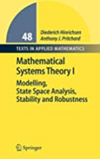 Mathematical Systems Theory I: Modelling,…