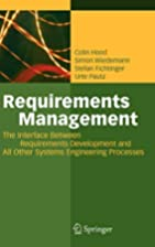Requirements Management: The Interface…