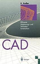 CAD: Effiziente Anpassungs- und…