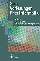 Vorlesungen über Informatik Band 4:…