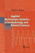 Applied multivariate statistics in…