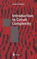 Introduction to Circuit Complexity: A…