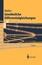 Ordinary Differential Equations by Wolfgang…