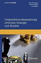 Unternehmensfinanzierung zwischen Strategie…