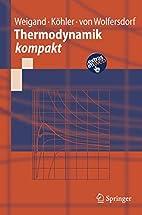 Thermodynamik Kompakt (Springer-Lehrbuch)…