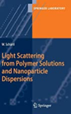 Light Scattering from Polymer Solutions and…