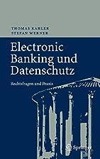 Electronic Banking und Datenschutz…