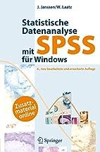 Statistische Datenanalyse mit SPSS für…