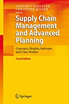 Supply Chain Management and Advanced…