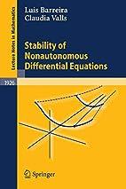 Stability of Nonautonomous Differential…