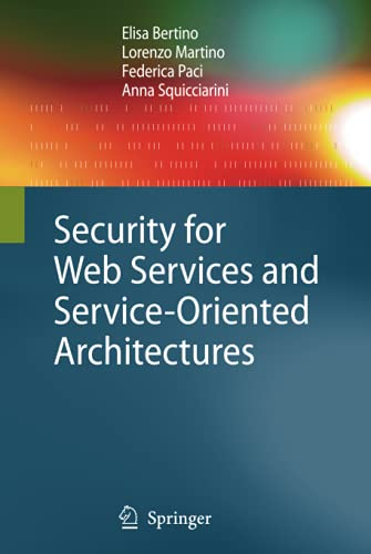 security-for-web-services-and-service-oriented-architectures