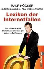 Lexikon der Internetfallen: Was Ihnen im…