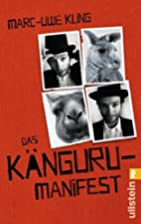 Das Känguru-Manifest by Marc-Uwe Kling