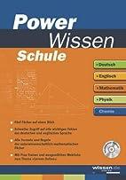 PowerWissen Schule, m. CD-ROM