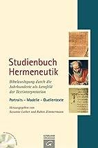 Studienbuch Hermeneutik: Bibelauslegung…
