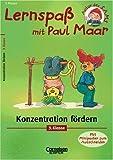 Maar, Paul: Lernspaß mit Paul Maar, Konzentration fördern, 3. Klasse