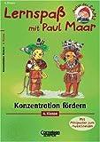 Maar, Paul: Lernspaß mit Paul Maar, Konzentration fördern, 4. Klasse