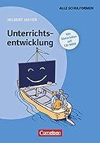 Praxisbuch Meyer: Unterrichtsentwicklung:…