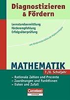 Diagnostizieren und Fördern, Mathematik:…